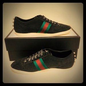🔥Gucci🔥RARE🔥Bambi Web Glitter Sneakers 10/10.5